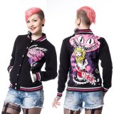 ALICE VARSITY JACKET【heartless 】