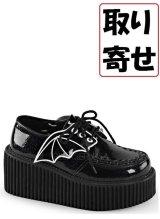 [取り寄せ]CREEPER-205/Black/ラバーソール【DEMONIA】