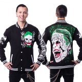 【Mens】JOKER VARSITY JACKET【heartless × /Suicide Squad】