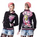 ALICE VARSITY JACKET【HEARTLESS】