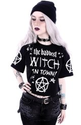 THE BADDEST WITCH IN TOWN/クロップトップス【Restyle】