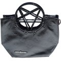PENTAGRAM HANDLE PURSE / BLACK / ハンドバッグ【KREEPSVILLE 666】