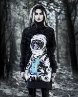 【Unisex】Catstronaut/タートルネックスウェット【Rogue + Wolf】