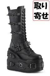 [取り寄せ]SWING-327/厚底ブーツ【DEMONIA】