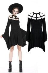 【DW183】Spider web shape design dress / ワンピース【DARK IN LOVE】